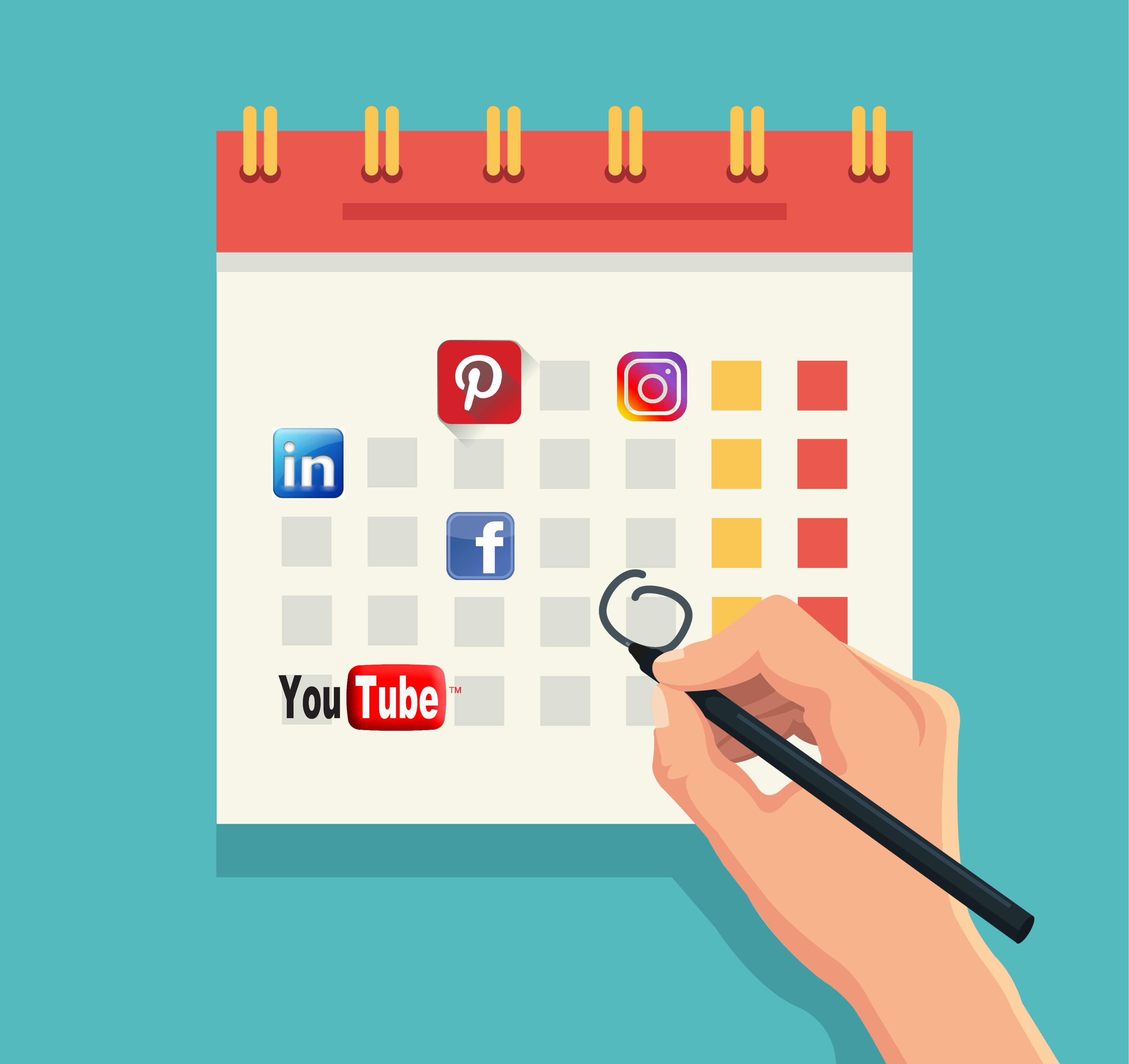 Calendario-redes-sociales - Factoria