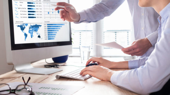 Control analítica web